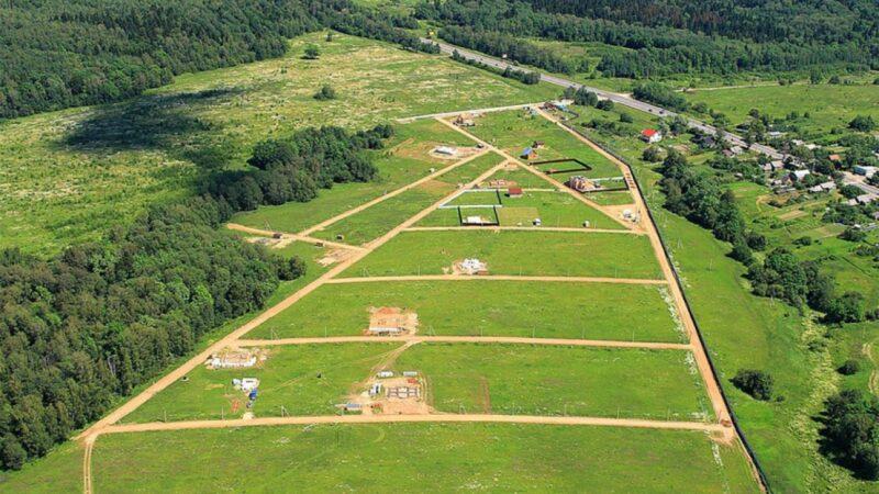 Участок под строительство загородного дома