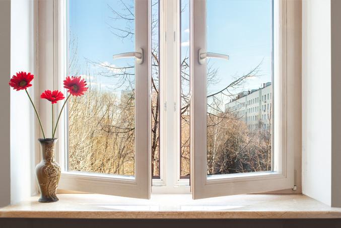 чистые окна в квартире