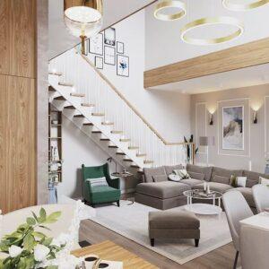 Купить двухуровневую квартиру в Москве и МО